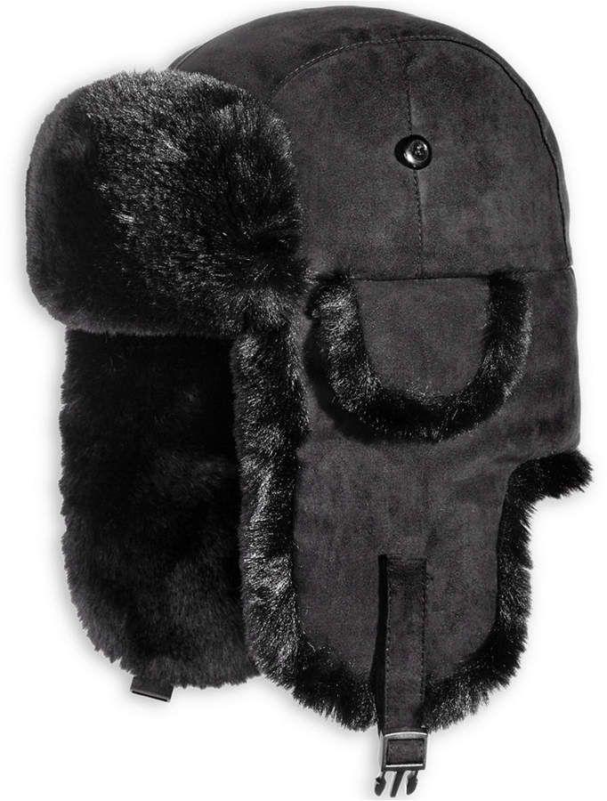 22af786738d Woolrich Men s Faux-Suede Trooper Hat