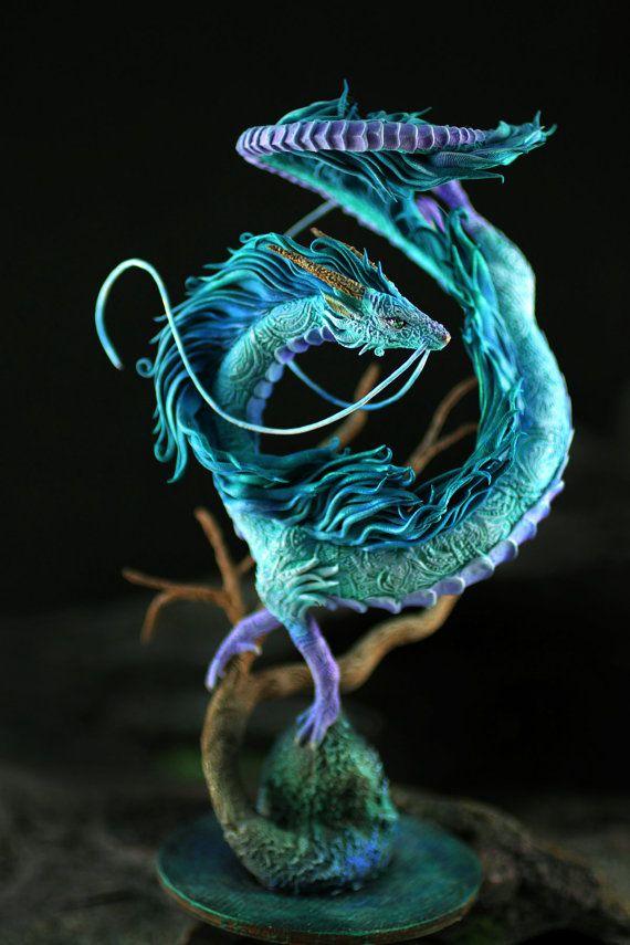 haku dragon miyazaki spirited away ghibli par demiurgusdreams dragon dragon fantastique et. Black Bedroom Furniture Sets. Home Design Ideas