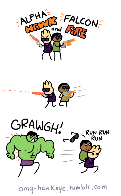 trash comics about a trash avenger, new trash weekly (more or less)