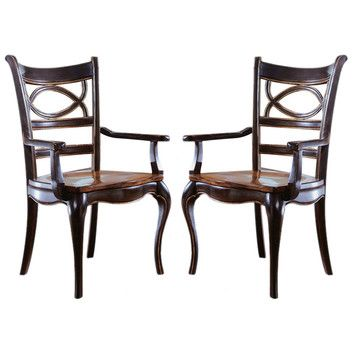 Hooker Furniture Hooker Furniture Preston Ridge Oval Back Arm Chair