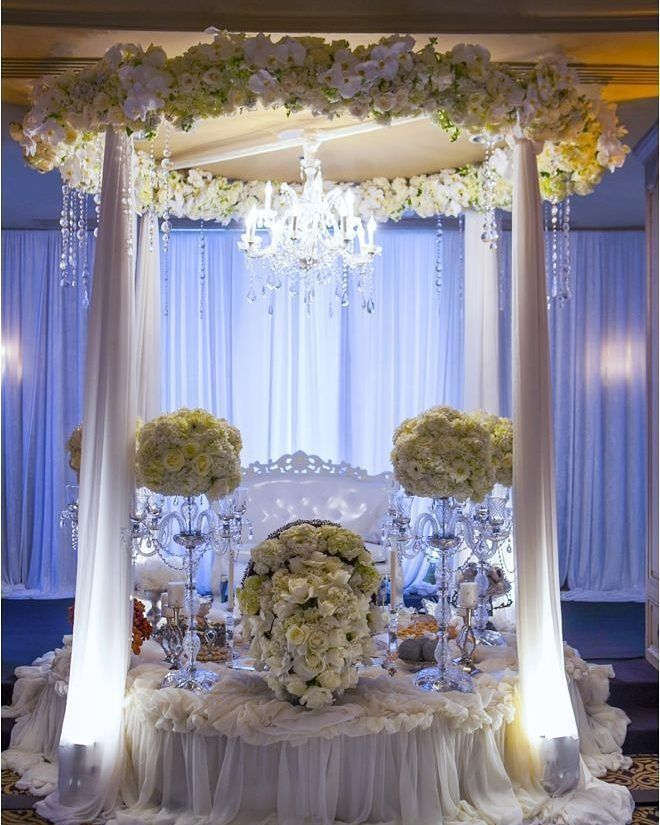 Sheer elegance! Outstanding lighting highlights this venue brilliantly. Great : #bellemagazine