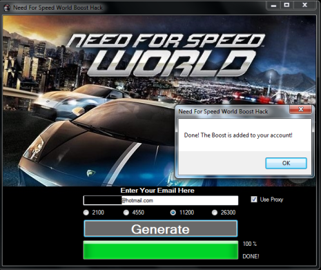 Need for speed world hack speed boost.