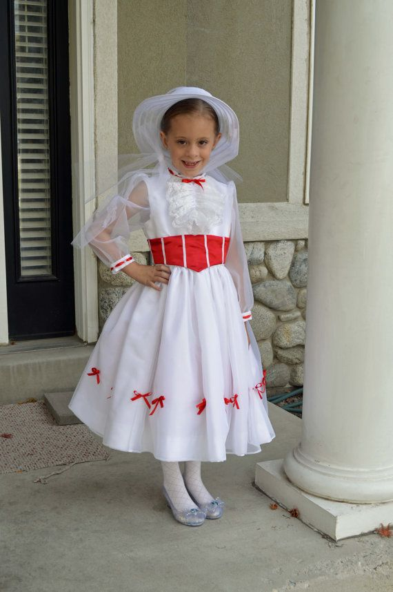 mary poppins white jolly holiday costume robe et par. Black Bedroom Furniture Sets. Home Design Ideas