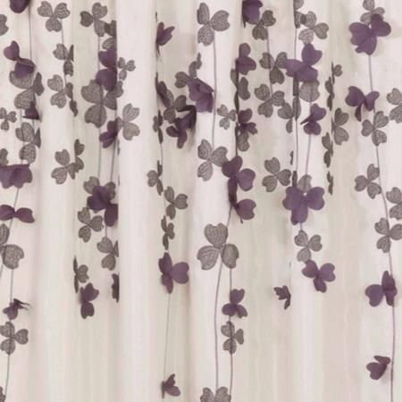 Home With Images Curtains Purple Shower Curtain Lush Decor