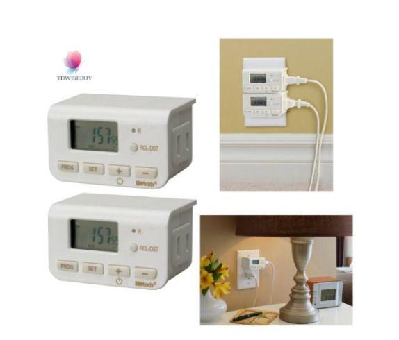 table lamp timer fan safety outlet electrical plug socket indoor