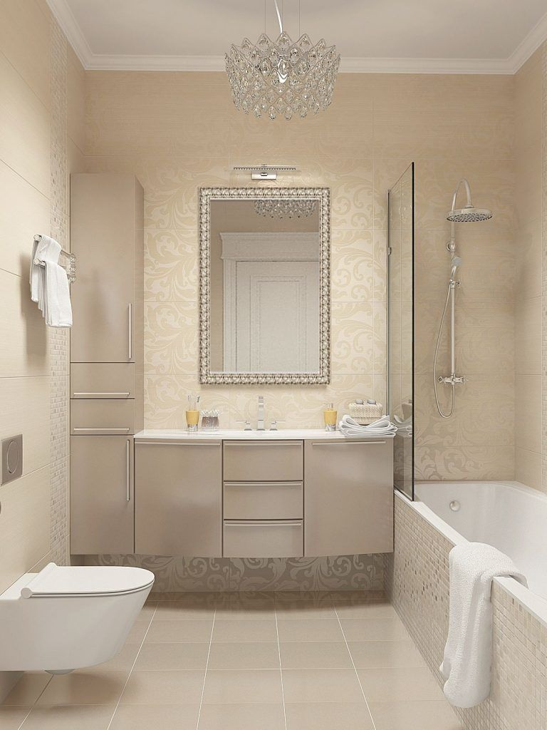 Podelitsya Na Facebook Pinterest Vkontakte Twitter Odnoklassniki Na Dizajn Interera V Raznyh Stranah Bathroom Interior Beige Bathroom Bathroom Interior Design