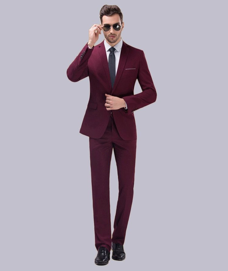 Jackets+Pants)2016 New Arrival Men Suit Spring Slim Groom Wedding ...