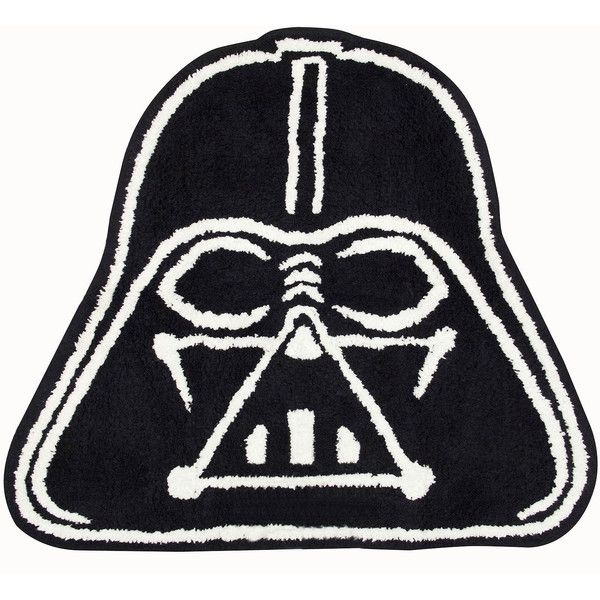 Star Wars Classic Bath Rug (470 ARS) ❤ liked on Polyvore featuring home, bed & bath, bath, bath rugs, cotton bath rug and cotton bathroom rugs