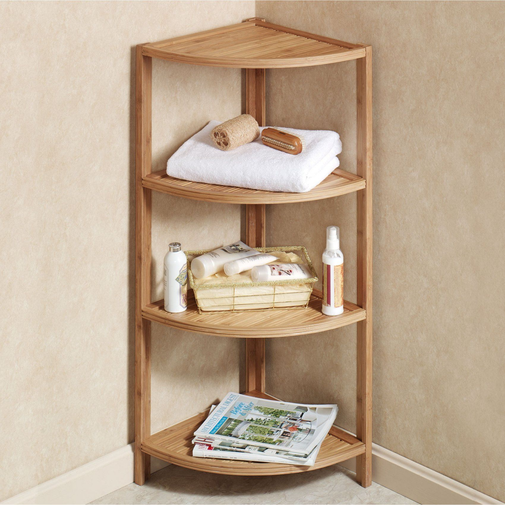 Corner Shelves Decoration