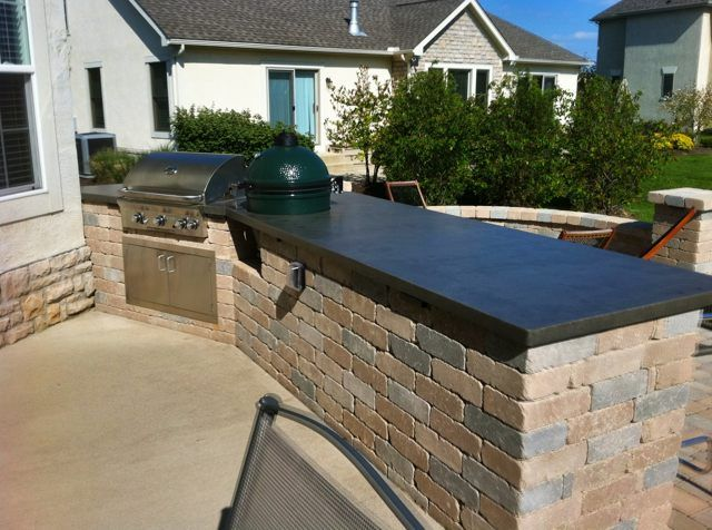 Concrete Countertops On Outdoor Kitchens Google Search With
