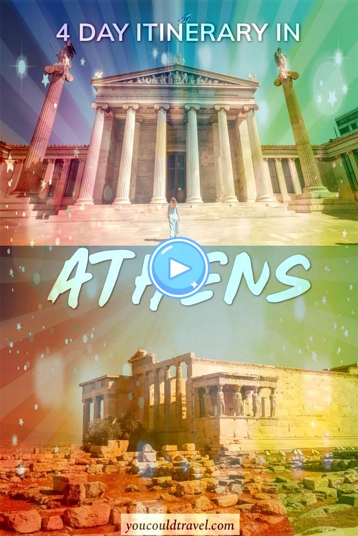 to enjoy 4 Days in Athens  After spending 4 days in Athens we can absolutely say that this magical city has a lot to offer Heres a complete Athens itinerary to help you p...