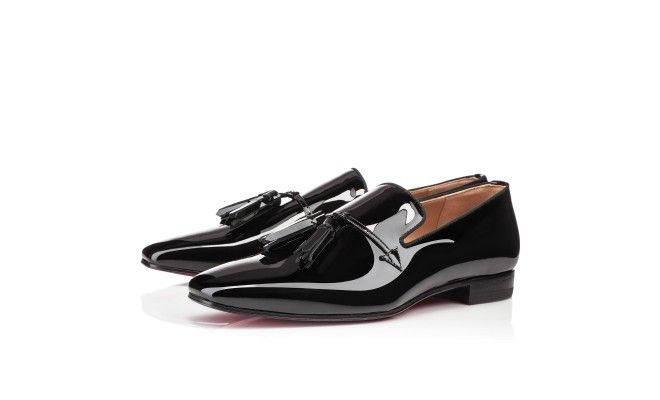 f486f07577381 Daddy Flat Black Patent Leather   La cla.cla.cla.classe ...