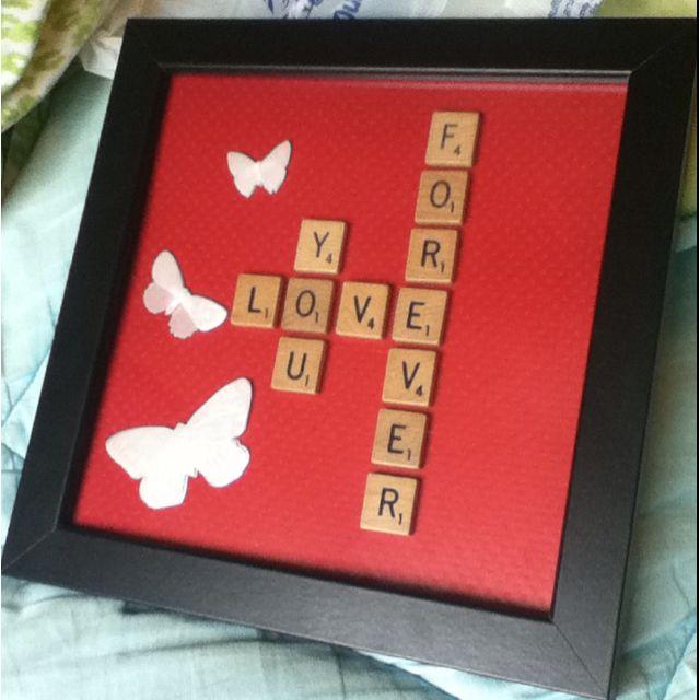 made this for by boyfriends birthday love pinterest geschenkideen valentinstag geschenk. Black Bedroom Furniture Sets. Home Design Ideas