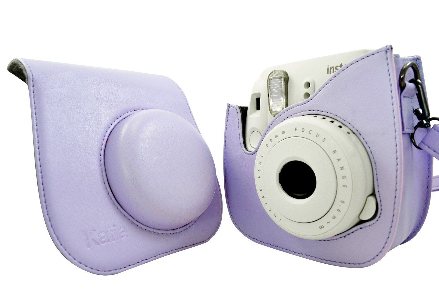Katia Pu Leather Fuji Fujifilm Instax Mini 8 Case Bag With