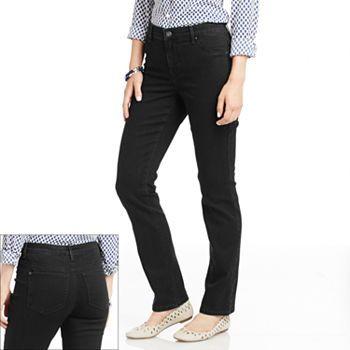 Gloria Vanderbilt Sadie Slim Jeans Womens Muffy Style Jeans