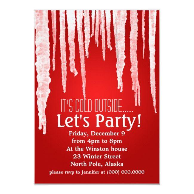 Holiday Party Invitations    Holiday Party Invitations Affiliate