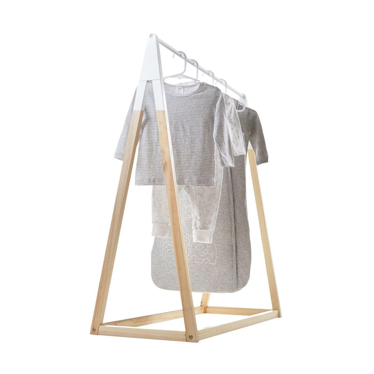 Diy Child Clothes Rack: Nursery Clothes Rack