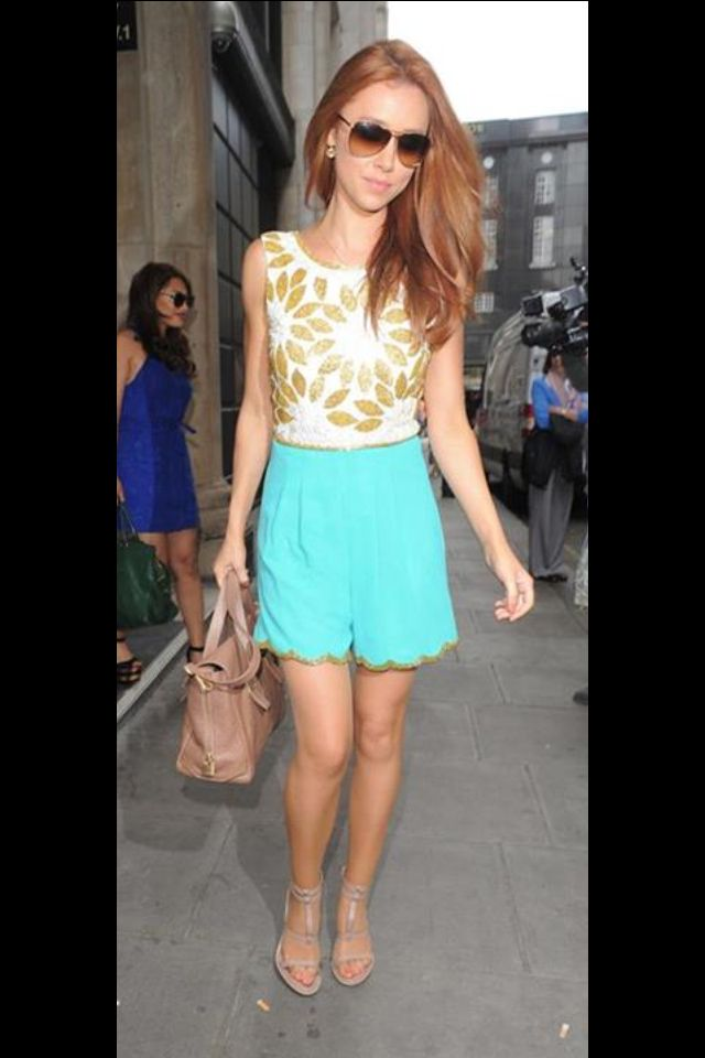 Una Healy from The Saturdays wearing one of our Virgos ...