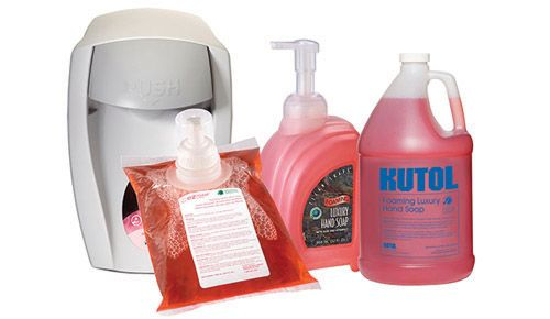 Kutol Clean Shape Foaming Luxury Hand Soap Is Our Most Popular