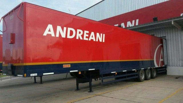 Andreani Logistica S A La Empresa Líder Del Mercado Logístico De Argentina Comenzó A Recibir Los Semirremolques Mode Logistics Supply Logistics Supply Chain