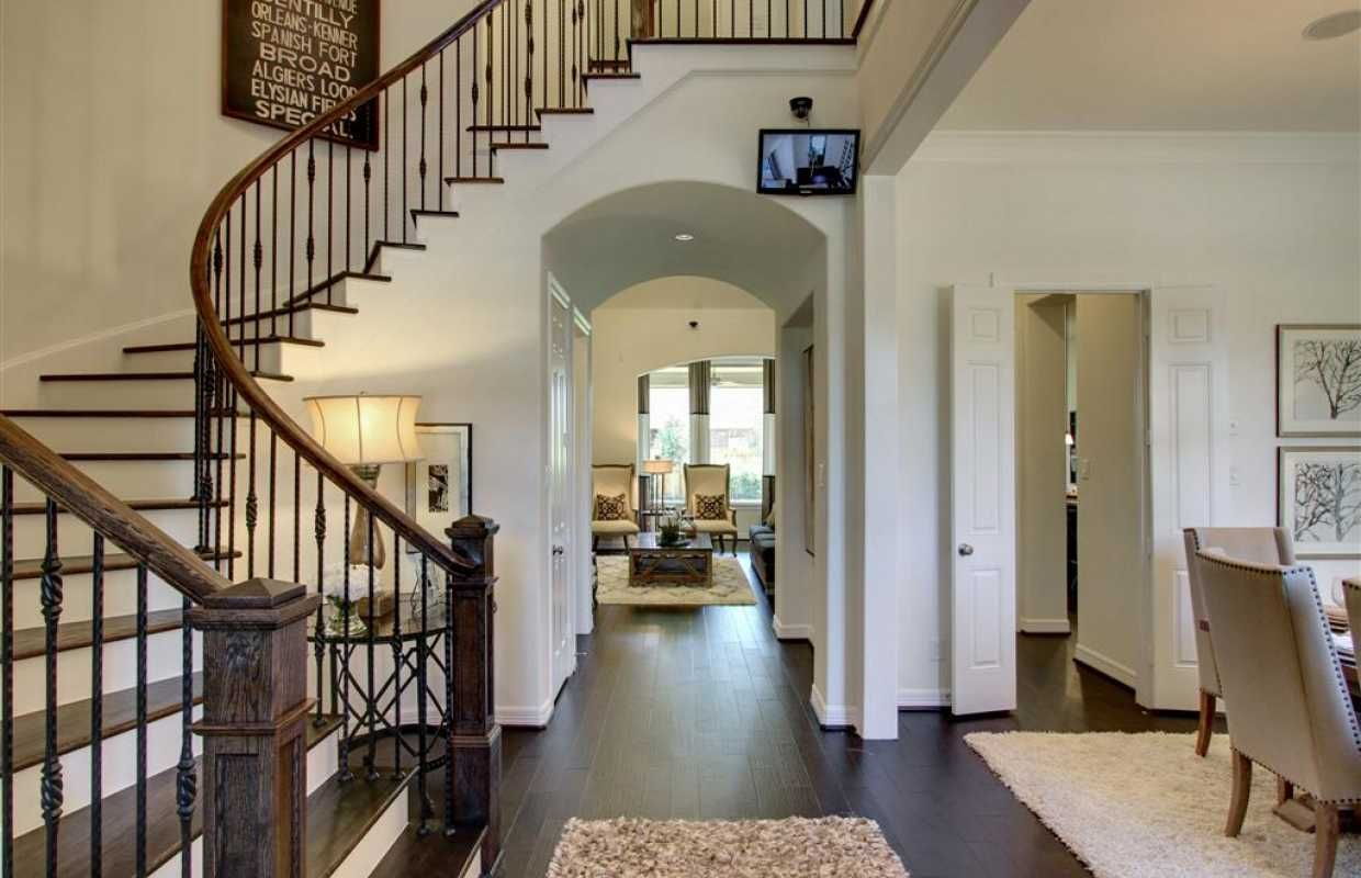 Entry Model Highland Homes In Houston Texas, Long Meadow Farms 70s  Community 713 244 · Highland HomesSpiral StaircasesHalf ...