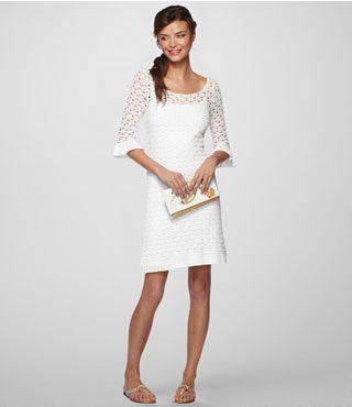 little white dress.