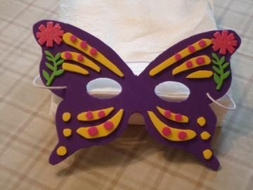 Free Shipping Handmade Butterfly Clothing Costume Children Mask