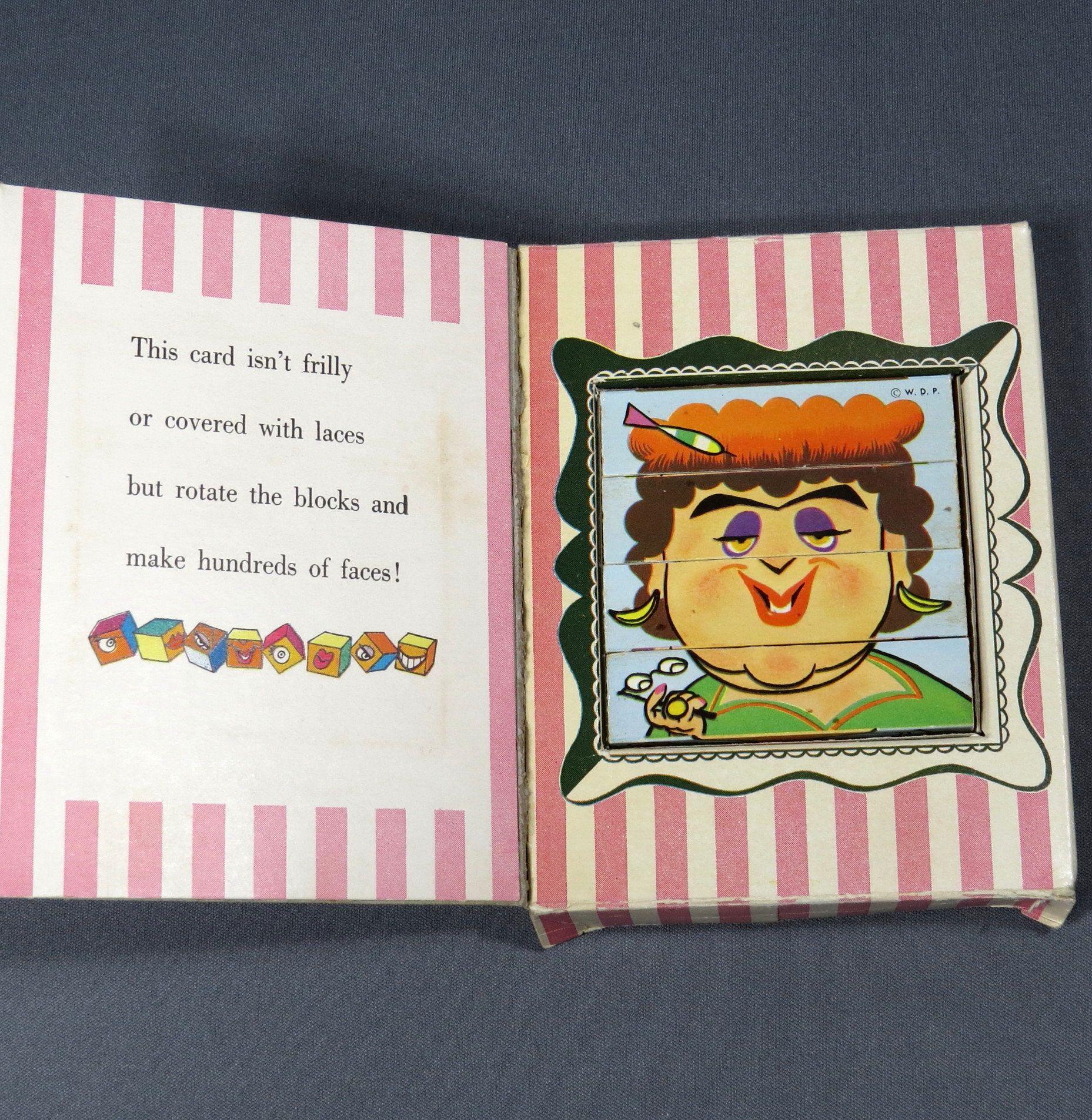 Vintage Walt Disney Productions Birthday Card 1950s WDP