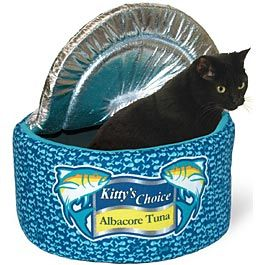 Kookamunga Krazy Tuna Can Cat Bed