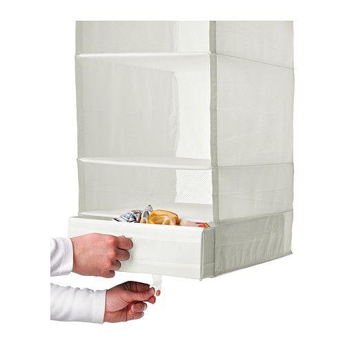 Ikea Handtuchständer skubb box with compartments white