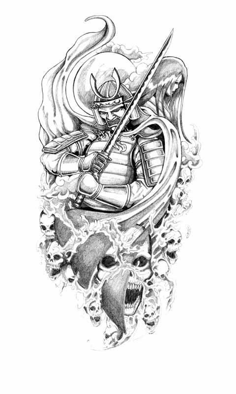 Japanese Tattoo Designs For Men And Women The Xerxes Samurai Tattoo Design Japanese Tattoo Samurai Tattoo