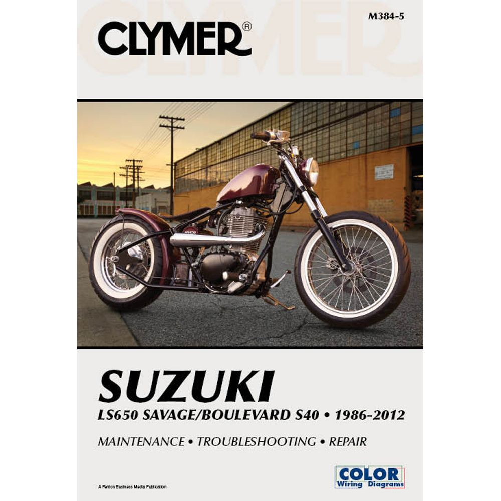 medium resolution of clymer suzuki ls650 savage boulevard s40 1986 2012 https