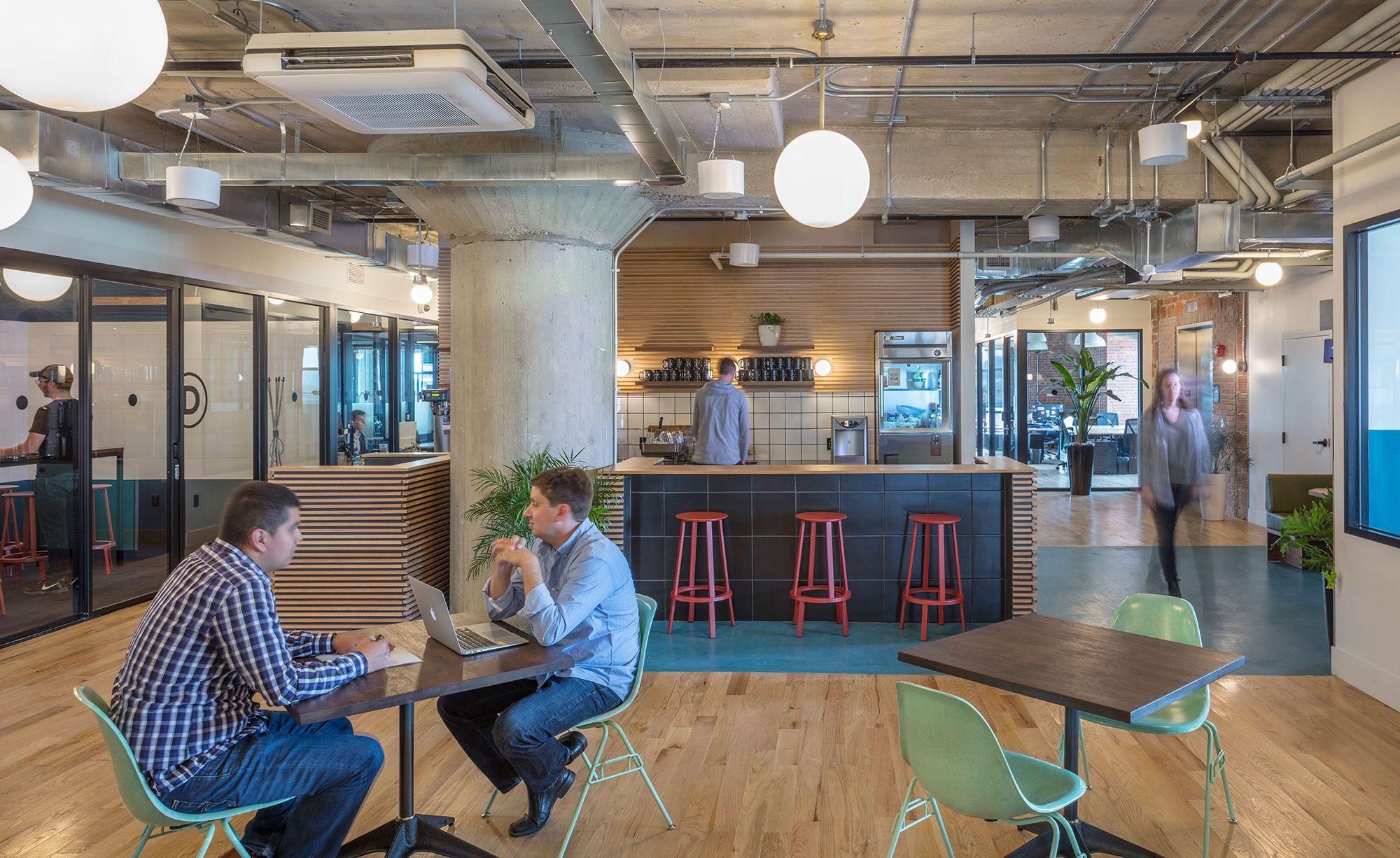 Corrigan Station WeWork In Kansas City MO Helix Architecture Design