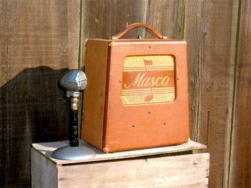 vintage masco mu 5 combo amp skip simmons amps vintage guitar amps sonics pinterest. Black Bedroom Furniture Sets. Home Design Ideas