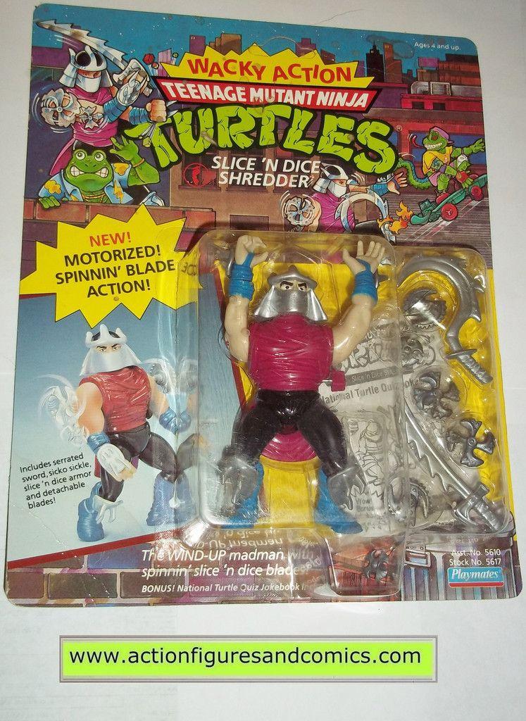 Teenage Mutant Ninja Turtles 1990 Playmates TMNT SHREDDER Figure Sealed!