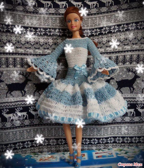 Pin de Clara Melo en Barbie crochet fashions | Pinterest | Barbie ...