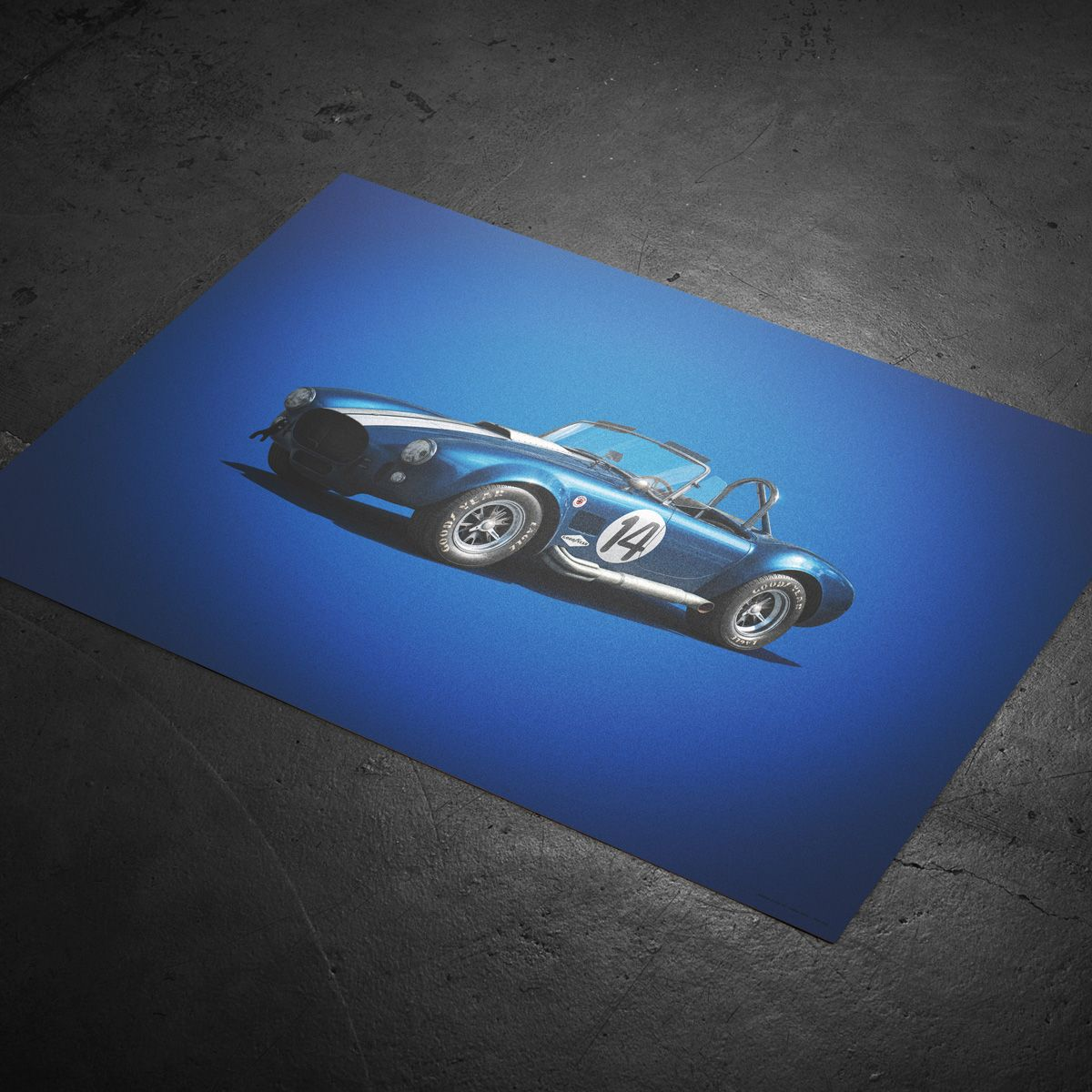 New In The Shop: Ferrari, Shelby, And McLaren Posters From
