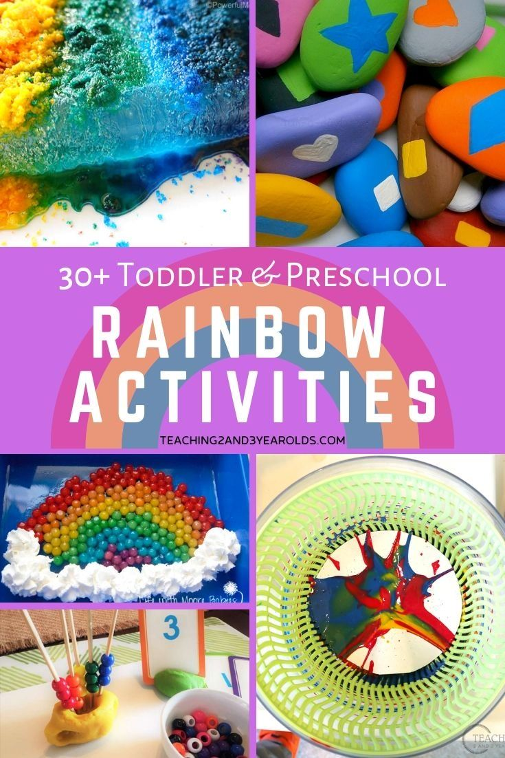 30+ Rainbow Activities for Kids | Rainbow activities ...