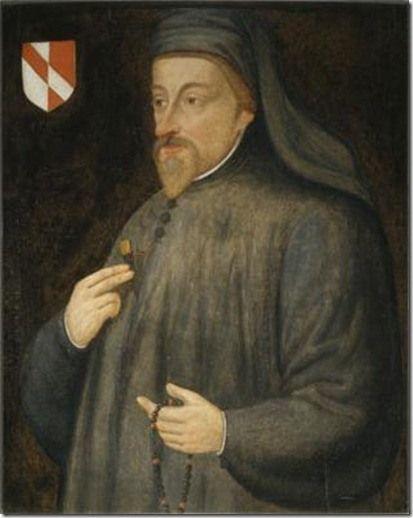 Geoffrey Chaucer [dall'Enciclopedia  http://www.treccani.it/enciclopedia/geoffrey-chaucer/