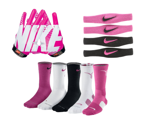 Breast cancer awareness football stuff
