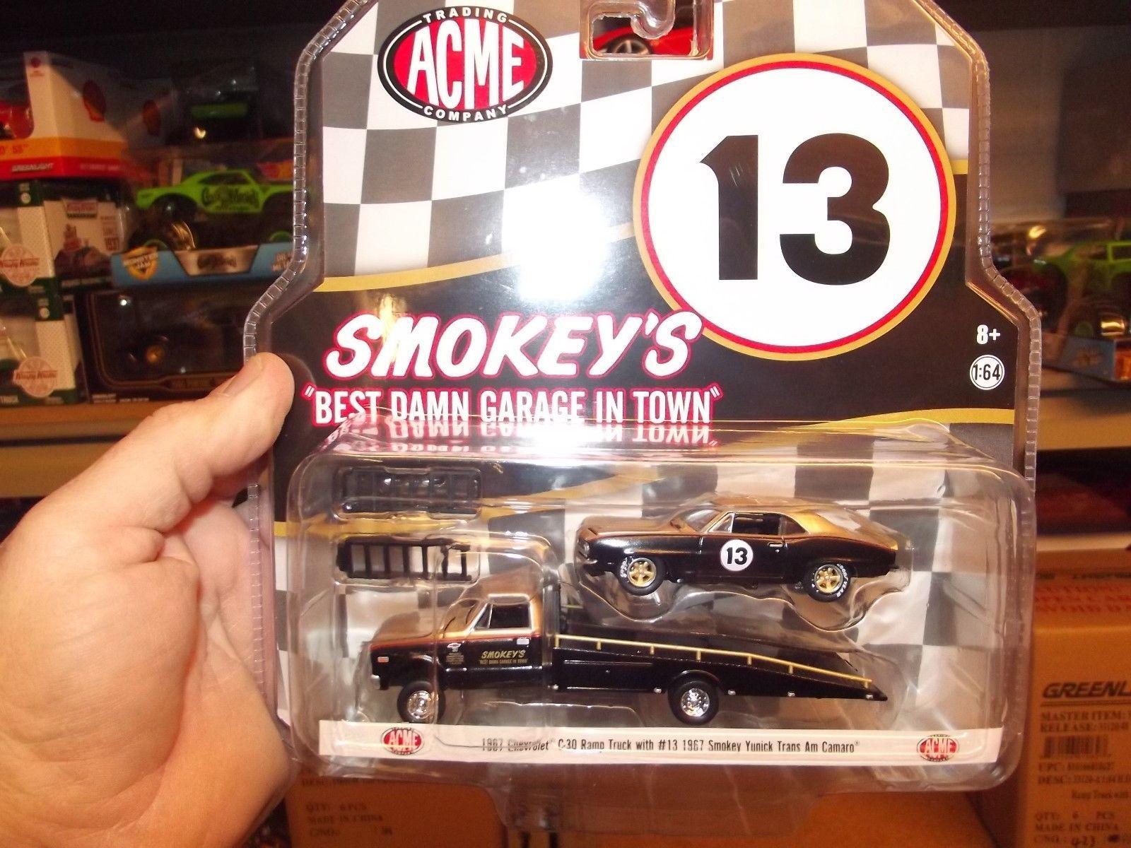 Cars Trucks and Vans 180273: Acme Hd 1 64 1967 C30 Ramp