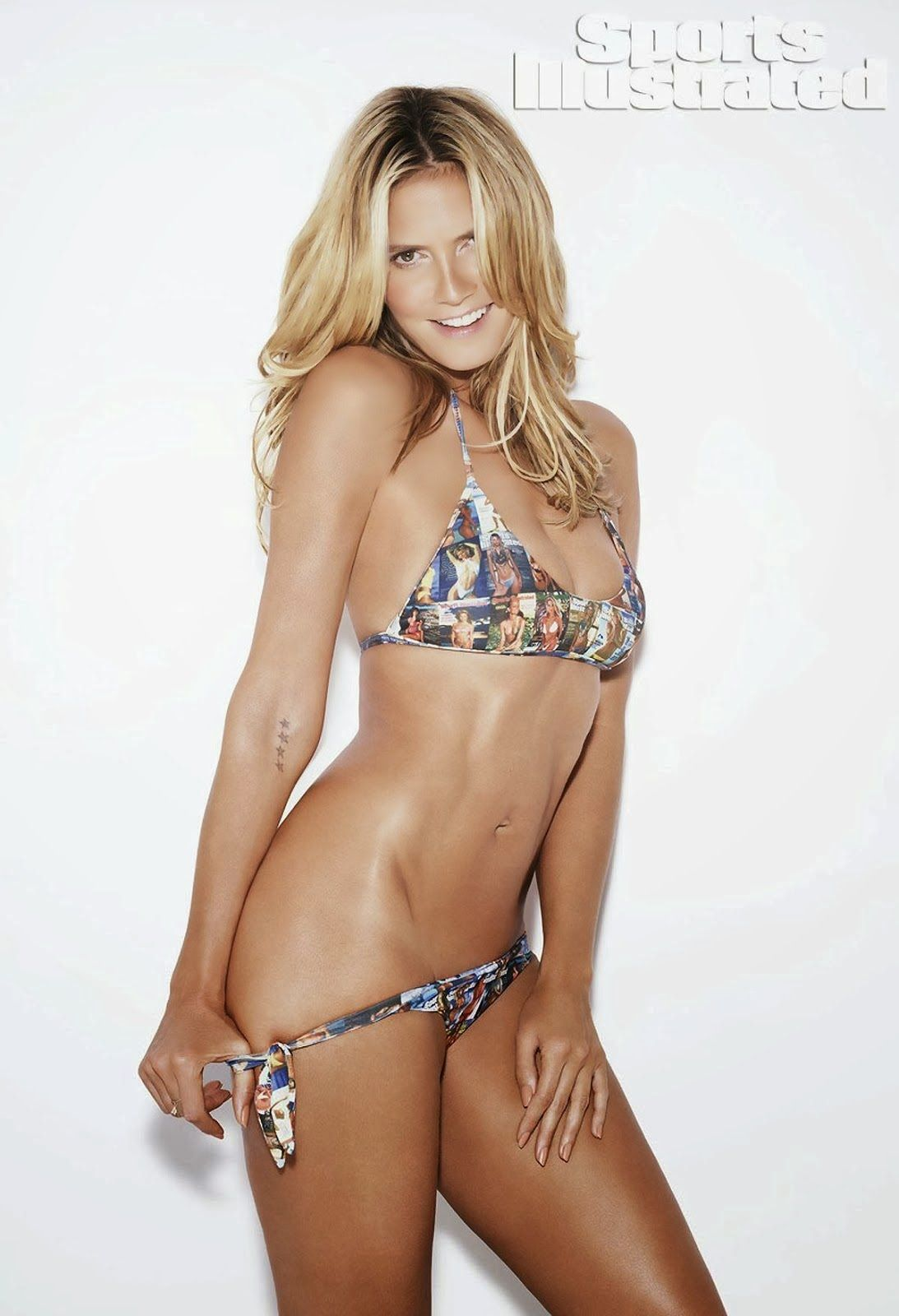 186b0d89bc269  in fast approaching, Heidi Klum has a bikini body that would make many  woman in the world will turn green with envy. Sports Illustrated swimsuit  2014 ...