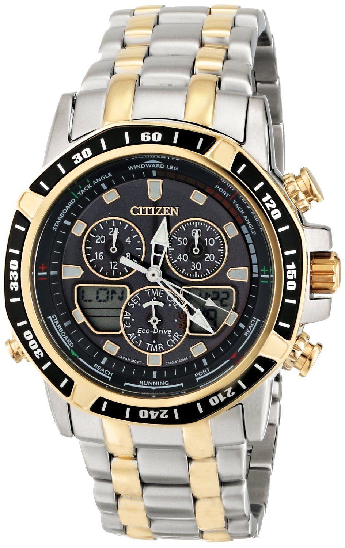 9cb56cb2ef1 men watches Citizen Men s JR4054-56E Sailhawk Two-Tone Stainless Steel Watch