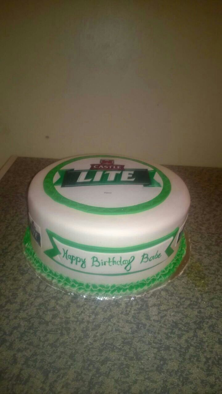 Castle Lite Birthday Cake Birthday No Bake Cake