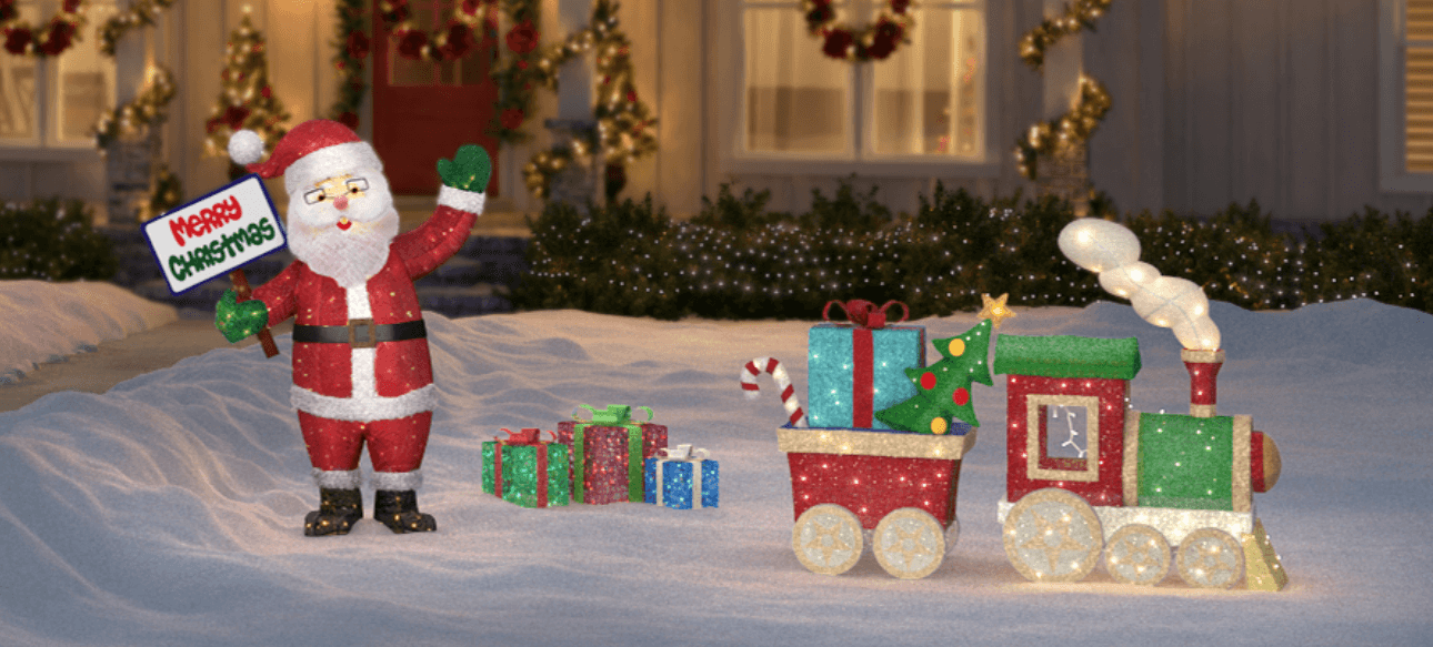 Christmas Decor At Home Depot Christmas Yard Decorations Outdoor Christmas Diy Home Depot Christmas Decorations