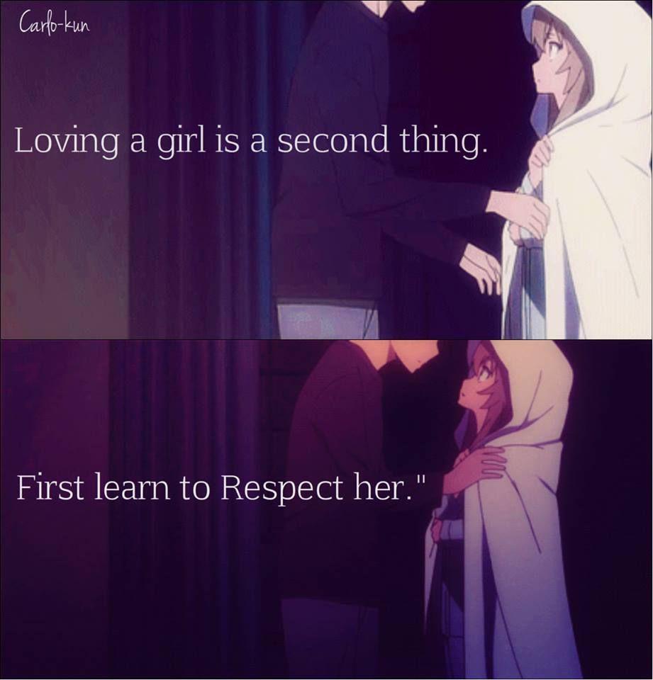 Anime Toradora Anime Love Quotes Toradora Anime Quotes