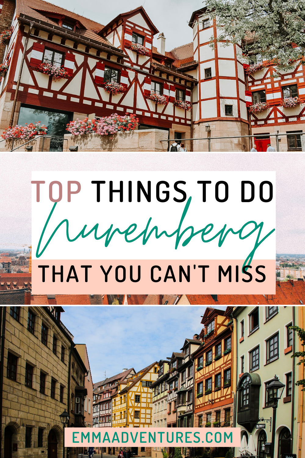 The best things to do in Nuremberg, Germany that you can't miss! The best things to see and do in Nuremberg, plus where to eat and drink! #nuremberg #germany #germanytravel