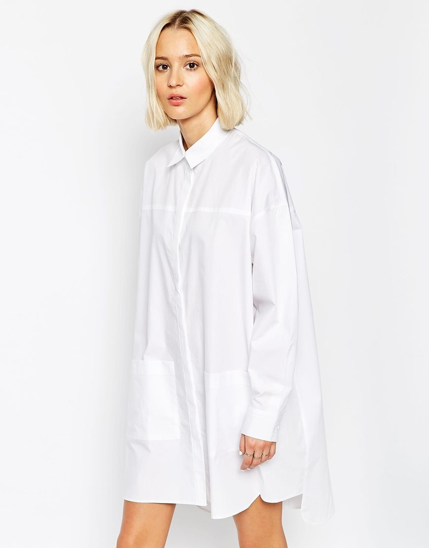 1000  images about white shirt dress on Pinterest - Jersey dresses ...