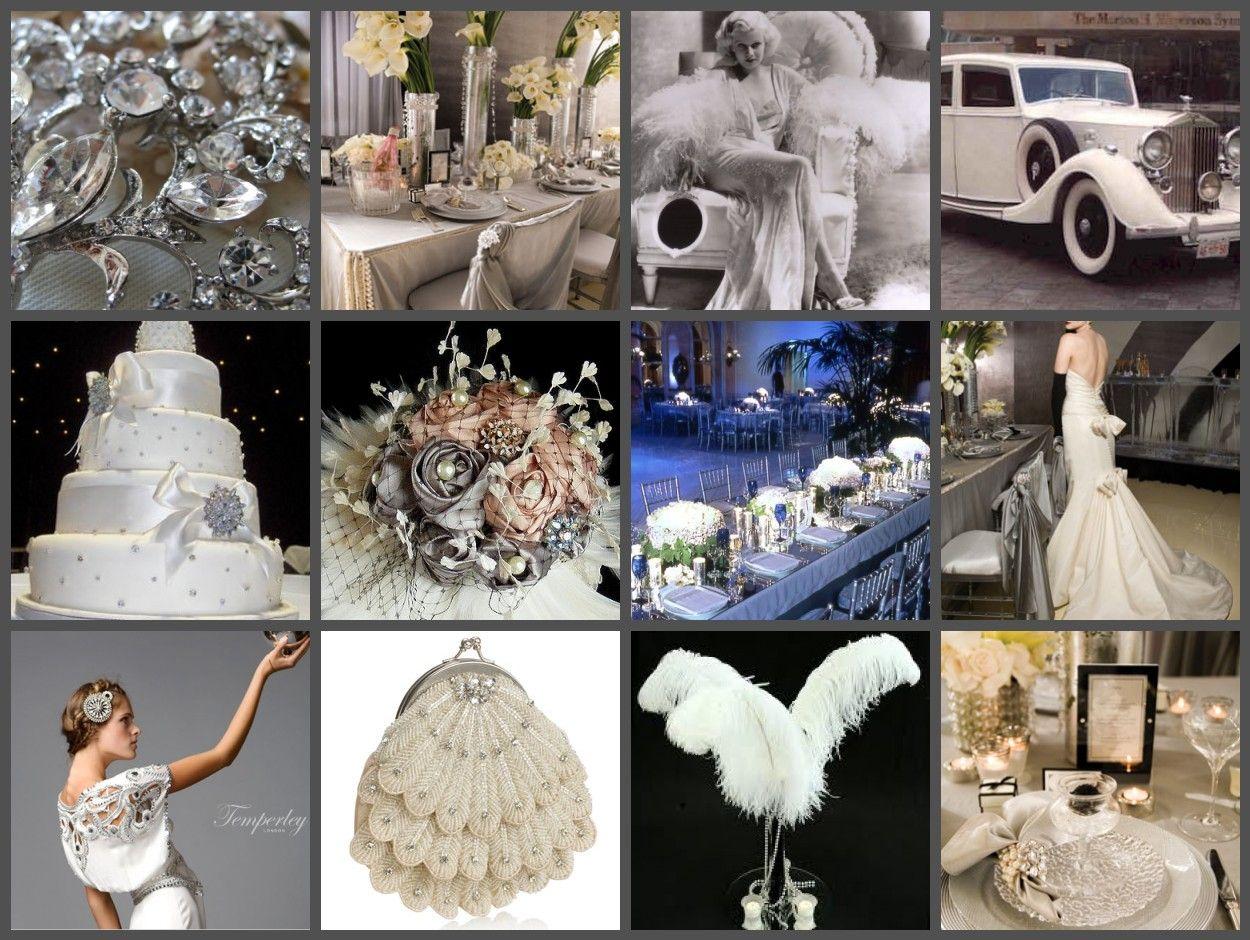 Inspiration For Old Hollywood Glamorous Wedding