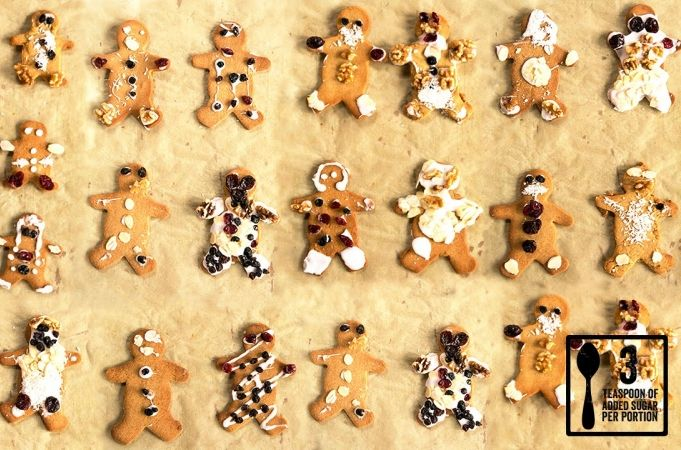 gingerbread people  recipe  cooking with kids christmas